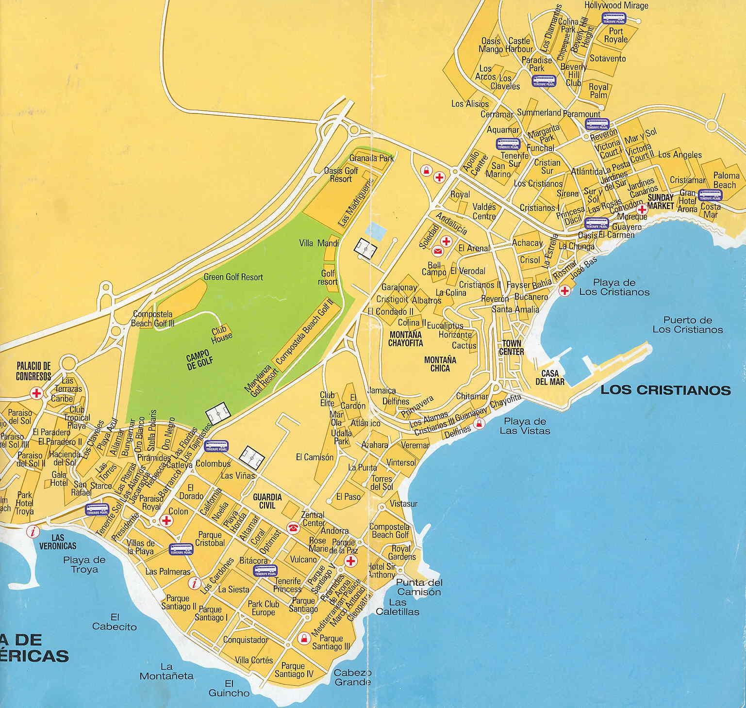 Las Americas Map America Map